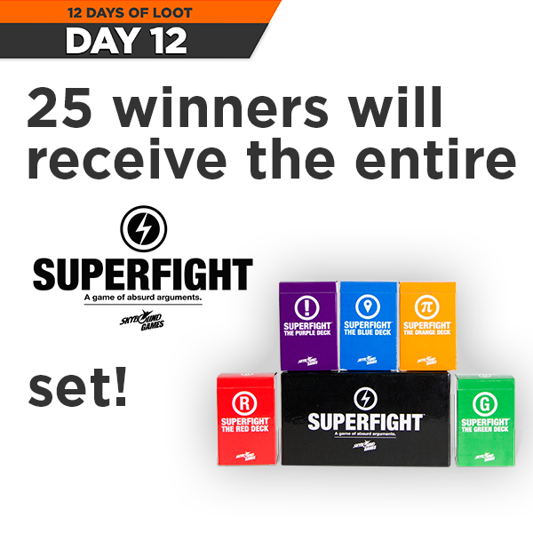 superfight12daysgleam