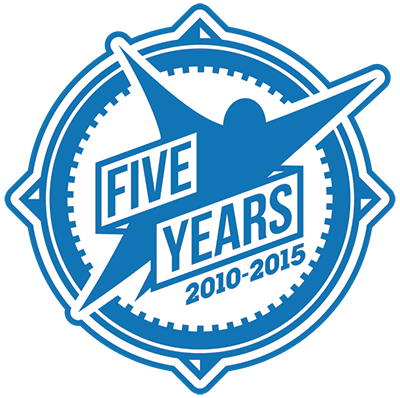 five-year-logo