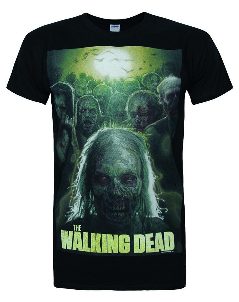 Official Walking Dead Poster Men's T-Shirt Body