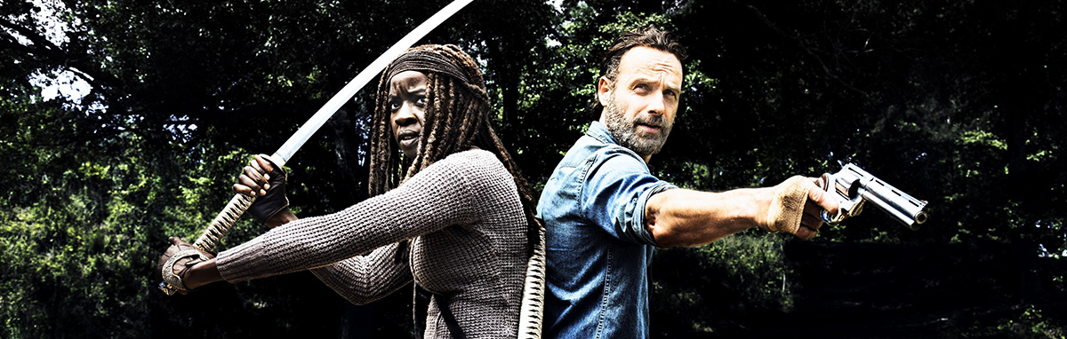 Details about  /N1088 The Walking Dead All Out War Season 8 Premiere Series 24x24 20 Silk Poster