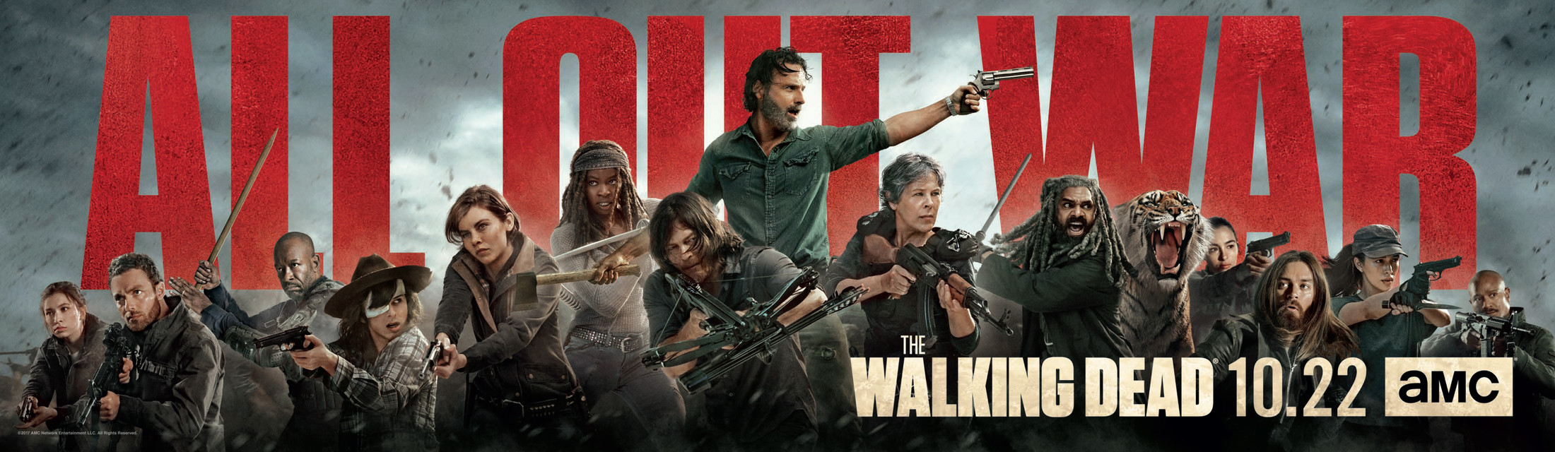 Amc Unveils The Walking Dead Season 8 Key Art