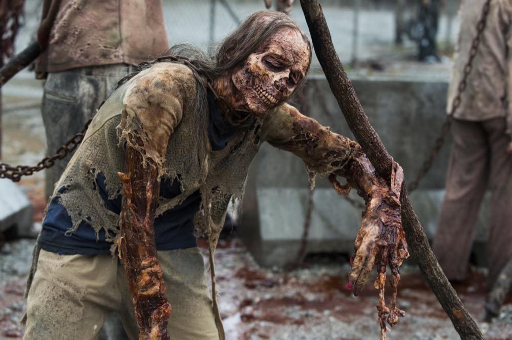 A Walker- The Walking Dead _ Season 8, Episode 1 - Photo Credit: Gene Page/AMC