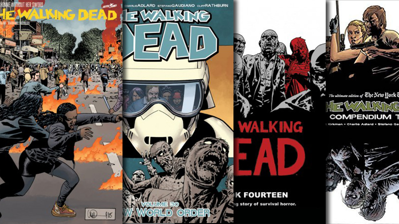 Twd Updated All The Ways To Read The Walking Dead Comics From Compendiums To Online Issues