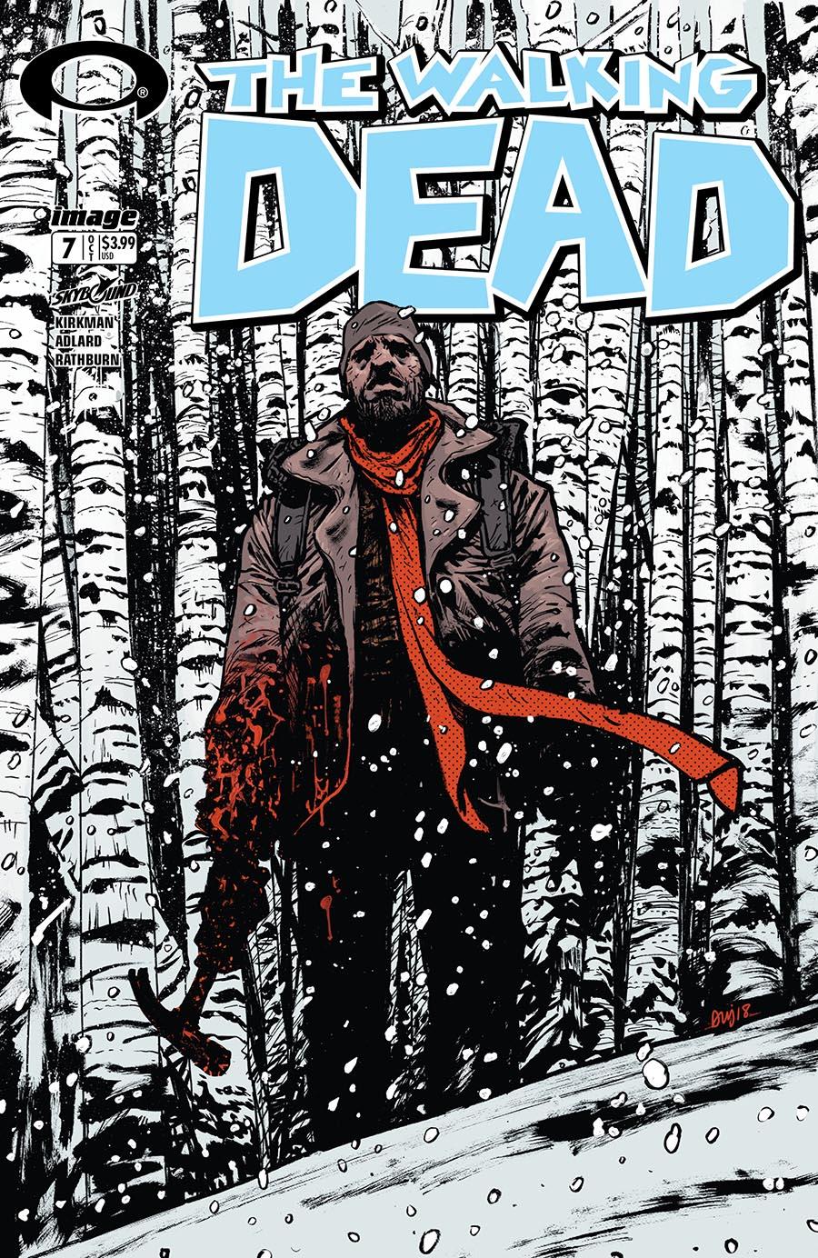 Image Comics THE WALKING DEAD #108 B/&W variant 15 Year Anniversary