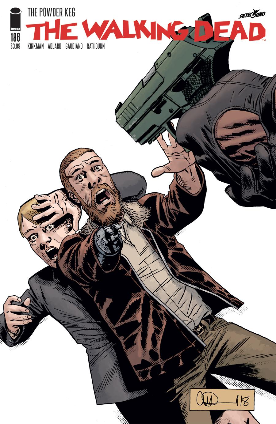 The Walking Dead #1-15th Anniversary Big Easy Comics Variant