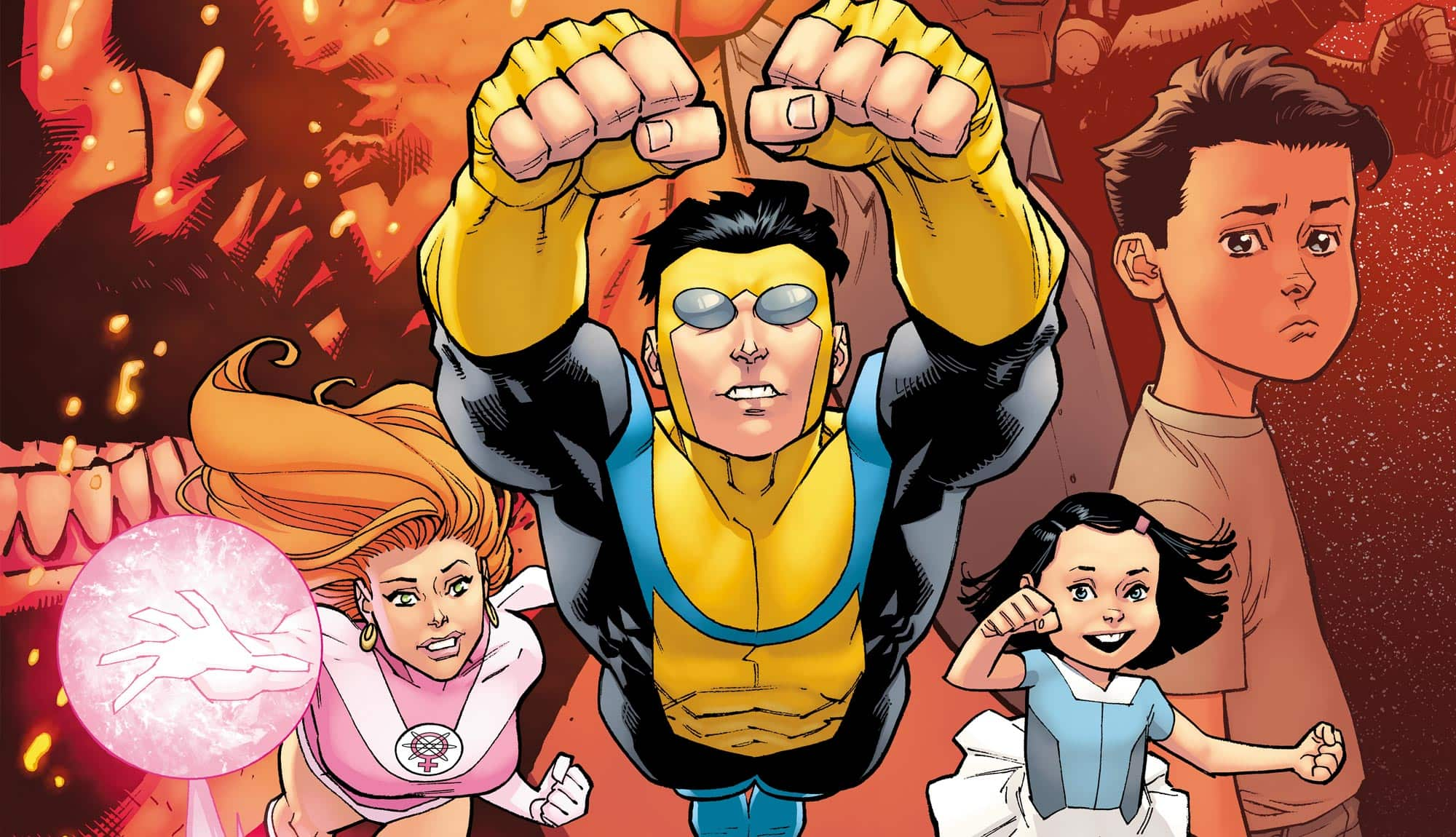 Invincible - Comic, Animated Series, Movie, and More! - Skybound ...