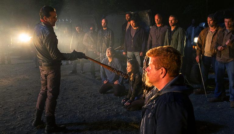 Jeffrey Dean Morgan Reveals Famous Abraham Line Was Improvised - Skybound Entertainment