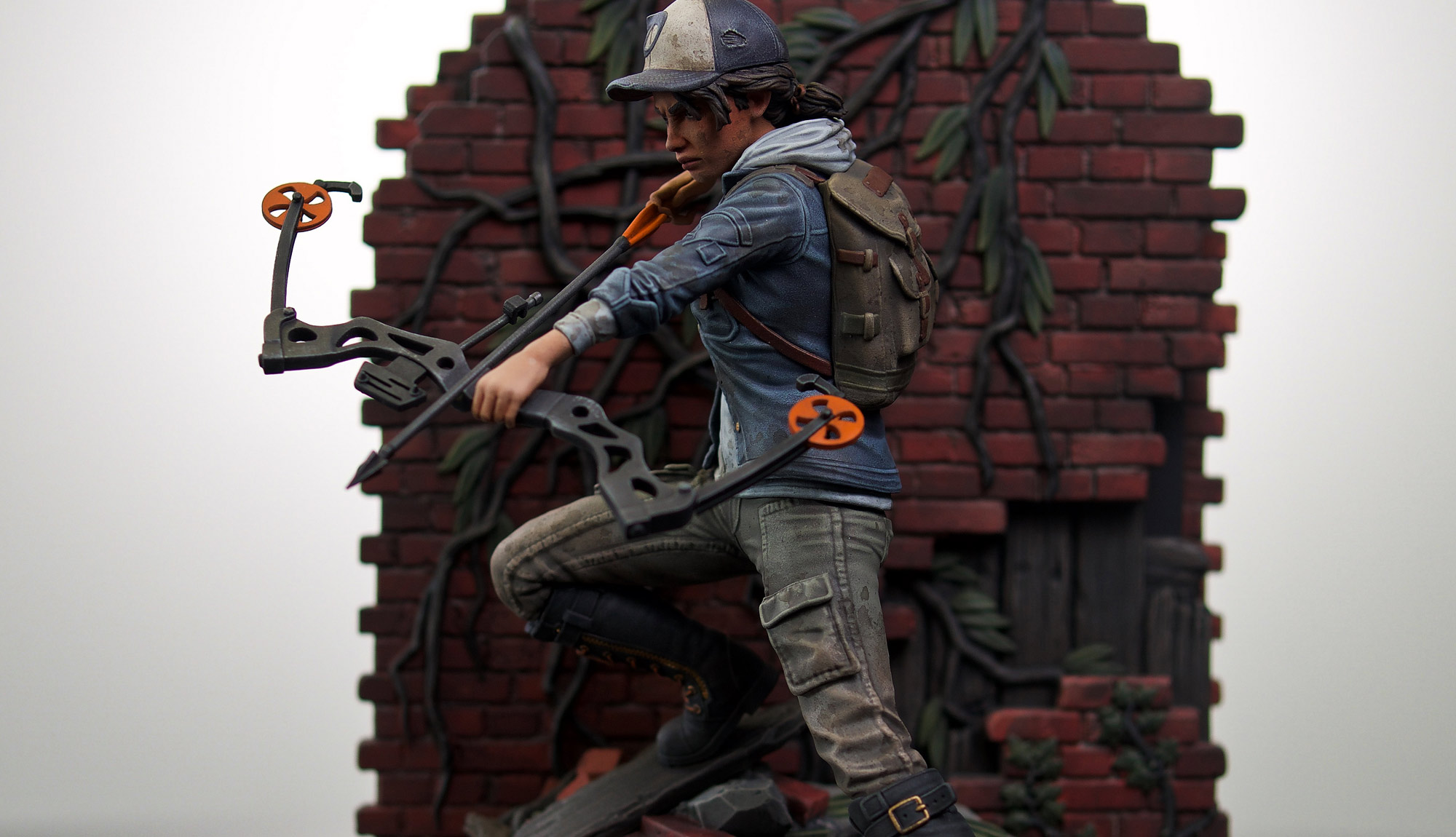 Lee And Clem Statue Update Skybound Entertainment